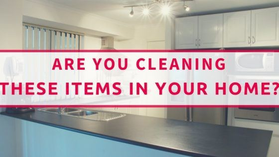 Cleaning Items You Use Everyday
